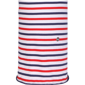 Regatta Shaila Foulard Femme, fiery red/marine blue stripe